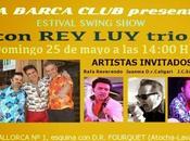 Pinchada Savoy Truffle Estival Swing Show trío Barca Club.