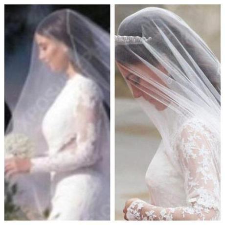 kim kardashian wedding dress givenchy kate middleton