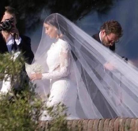 kim kardashian wedding dress givenchy first picture