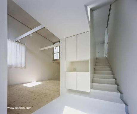 Japonesa urbana minimalista en blanco y negro paperblog for Casa minimalista interior blanco