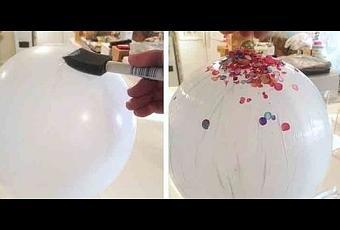 C mo hacer un cuenco con confeti paperblog for Como hacer confeti
