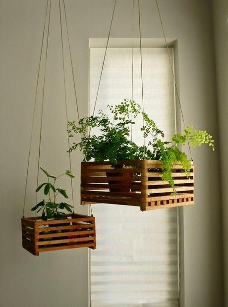 Miércoles de inspiración ♥ decorar con cajas de madera   paperblog