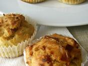 Muffins bacon, puerro queso