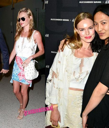 Kate Bosworth hm topshop burberry