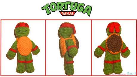 Amigurumi: Tortuga Ninja. - Paperblog