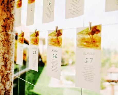 Los detalles de la boda de Andrea y Álvaro