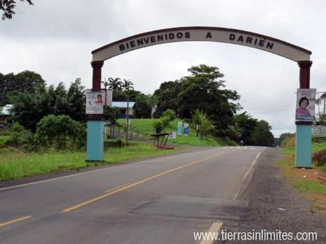 Frontera del Darién