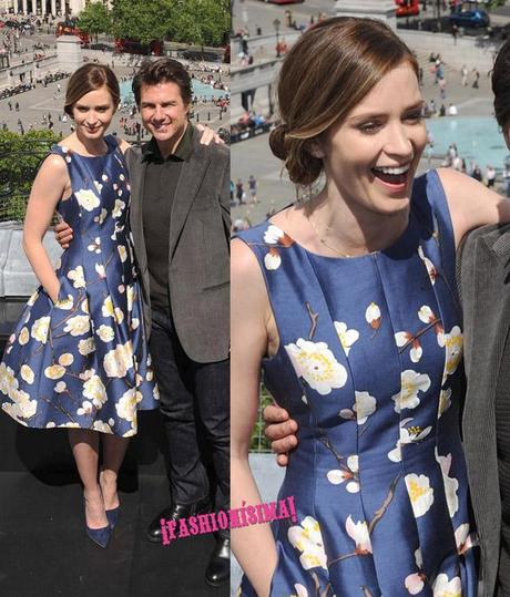 Tom Cruise & Emily Blunt - Trafalgar Photo Call