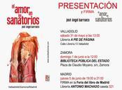 José Ángel Barrueco: amor sanatorios (1): Presentación Valladolid: