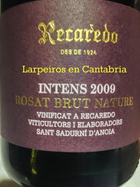 Cava ros recaredo intens 2009 sorpresa agradable paperblog - Tiempo en sant sadurni d anoia ...