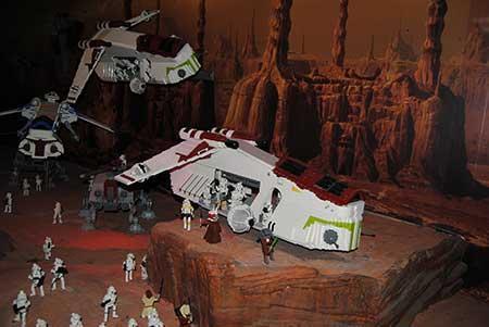 Ataque contra los clones (Star Wars)- Legoland