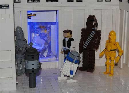 Detalle de Star Wars - Legoland