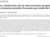 Ventajas limitaciones intervenciones terapéuticas para trastornos mentales Internet Andersson Titov