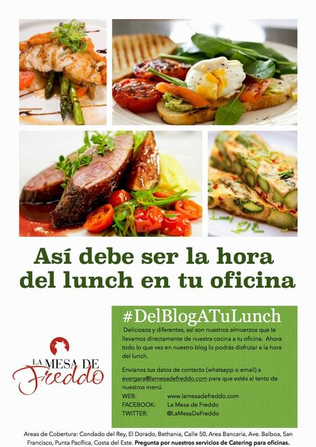 Del Blog a tu Lunch