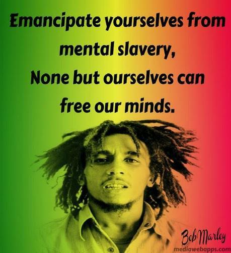 Imagen De Bob Marley Y Frases Para Compartir Paperblog