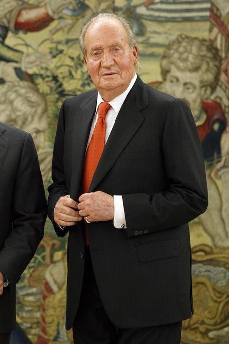 Rey don Juan Carlos I abdicación