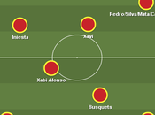 once inicial Vicente Bosque Mundial Brasil 2014