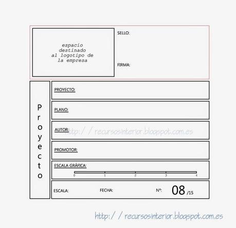 Cajet n profesional para proyectos dwg archivo 3 paperblog for Pie de plano arquitectonico pdf