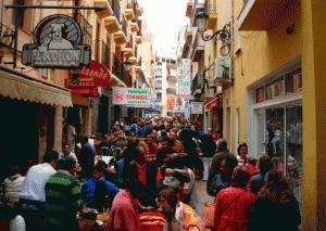 De tapas por la calle Santo Domingo de Benidorm