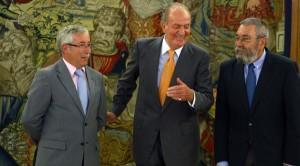 Méndez y Toxo se han apresurado a apoyar a Juan Carlos y a Felipe VI
