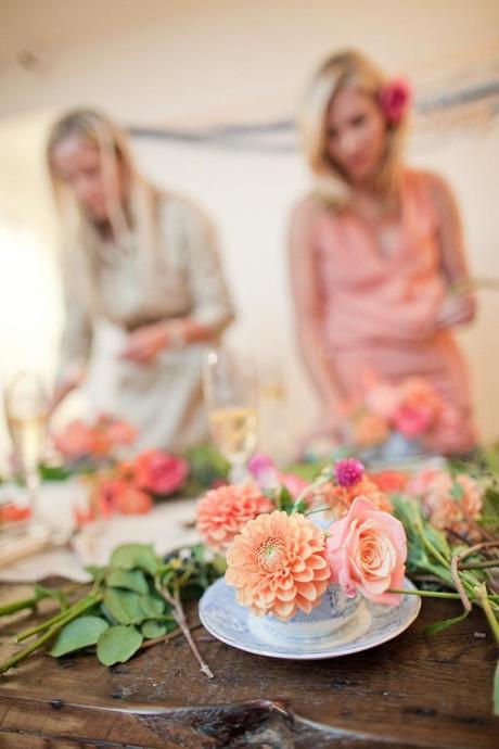 La fiesta de las flores como hacer un centro floral de - Hacer un centro de flores ...