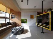 Apartamento Taiwan inspirado naturaleza