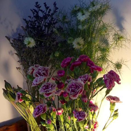 magnolia and co taller de flores claveles