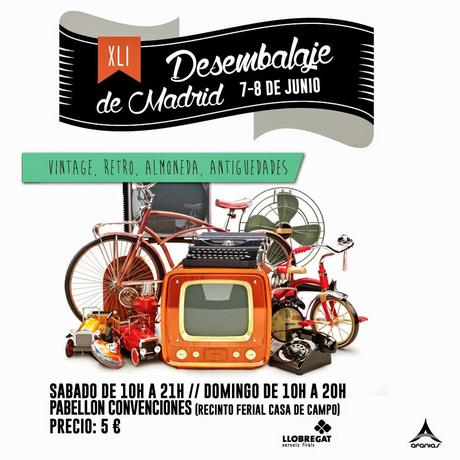 Desembalaje madrid 7 8 junio decoraci n retro vintage y mucho m s paperblog - Recinto ferial casa de campo madrid ...