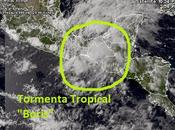 "forma tormenta tropical ""Boris"", segunda temporada Pacífico"