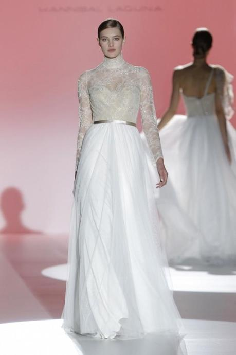 Hannibal Laguna en Barcelona Bridal Week