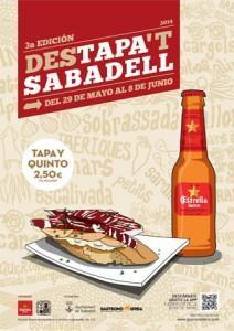 Cartel Destapa't Sabadell 2014