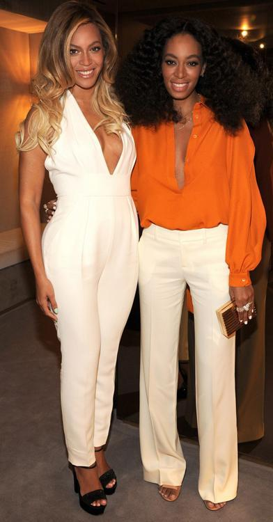 Beyonce Solange knowles Gucci