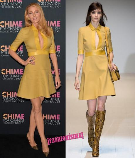 CHIME FOR CHANGE One-Year Anniversary Event Hosted By Gucci Creative Director Frida Giannini And T Magazine Editor-In-Chief Deborah Needleman - Arrivals