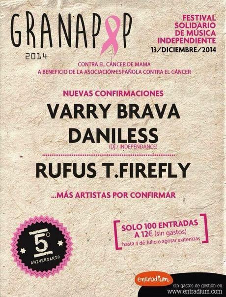 VARRY BRAVA y DANILESS DJ al Granapop 2014