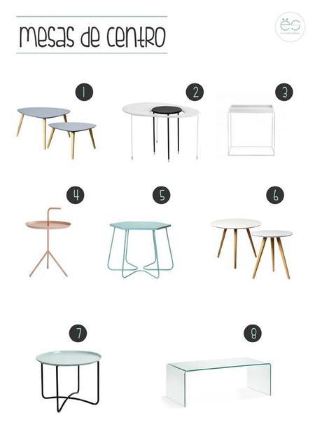 Mesas de centro para salones peque os paperblog - Mesas de centro para espacios pequenos ...