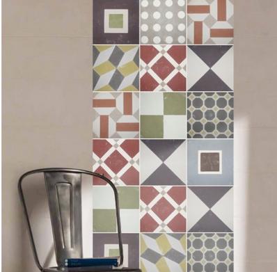 Azulejo hidr ulico adhesivo paperblog for Vinilo azulejo hidraulico