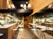 Restaurante take-away Casp Food, plantas todo detalle centro Barcelona.