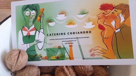 Catering CORIANDRO  y receta