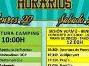 Horarios Derrame Rock 2014