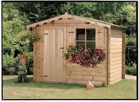 Casitas de madera para el jard n paperblog for Casitas de jardin de madera