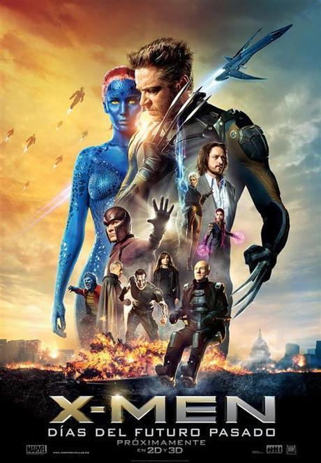 X-Men Dias del futuro pasado poster españa