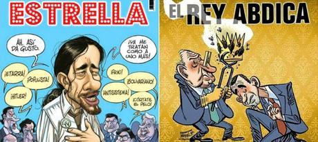 Parece mentira que, en pleno siglo XXI ocurra esto: RBA retira la portada de 'El Jueves' sobre la abdicación del Rey