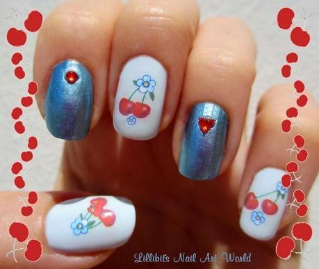 Cerezas y flores kkcenterhk paperblog - Pintaunas kiko efecto espejo ...