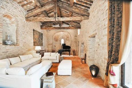 Casa rustica italiana para turismo paperblog for Casas antiguas remodeladas
