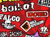 Marea Rock Festival 2014: Gatillazo, Boikot, Gossa Sorda, Kaotiko, Talco, Mala Reputación...