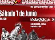 Rick brendan concierto junio moby dick