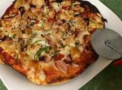 Pizza casera individual 400Kcal.