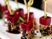 Catering gourmet para casamientos