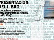 legítima defensa. Poetas tiempos crisis: Presentación MUSAC: poema Jorge Barco: