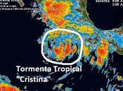 """forma tormenta tropical """"Cristina"""", tercera temporada Pacífico"""
